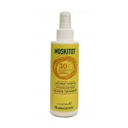 MOSKITOT Emulsión Fluida SPF30 y repelente natural 150ml